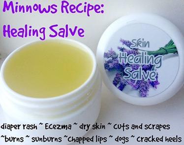 Minnows Healing Salve